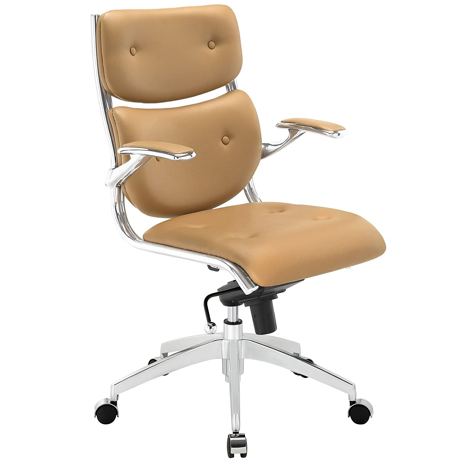 unico office chair. Unico Office Chair. Amazon.com: Modway Push Faux Leather Managerial Chair With