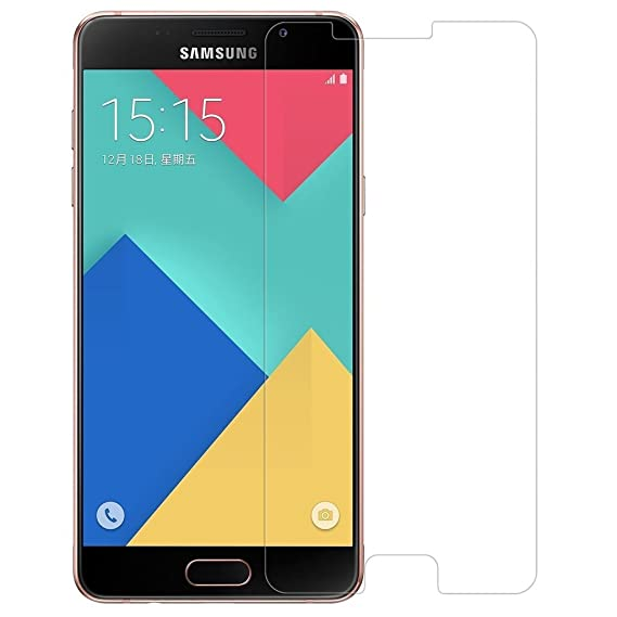 Lively TM Premium Series Perfect Fit Tempered Glass For Samsung Galaxy A9 Pro Mobile Accessories