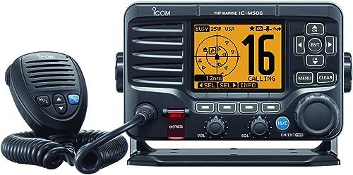ICOM VHF Boat Ship to Shore Marine Radio with Hailer [Icom] Picture