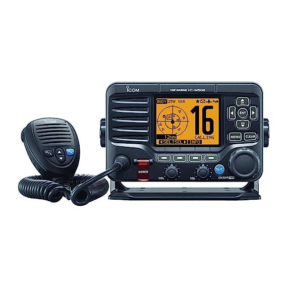 amazon com icom ic m506 01 fixed mount vhf radio with hailer icom rh amazon com ic-m505 manual icom m505 manual