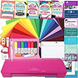 Silhouette Cameo 3 Glitter Pink Edition Bluetooth Educational Bundle Oracal Vinyl, Guides, Class, Membership and More