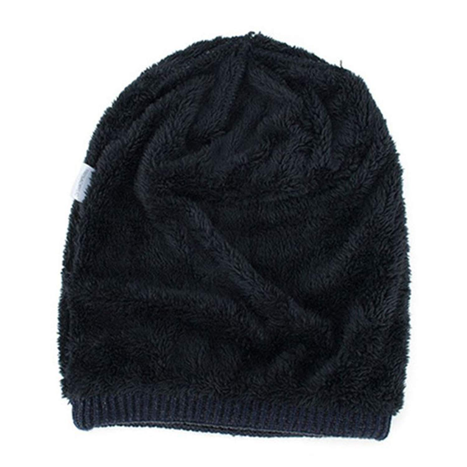 Warm Plush Winter Hats Men Letter Knitted Beanie Hat Men Slouchy Sport Hat Hip Hop Beanies Skull Cap Ski Caps