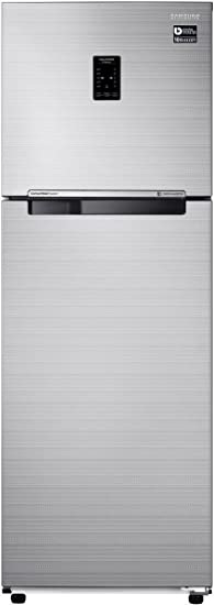 Samsung 275 L 3 Star Frost Free Double Door Refrigerator(RT30K3723S8, Elegant Inox, Convertible, Inverter Compressor) Refrigerators at amazon