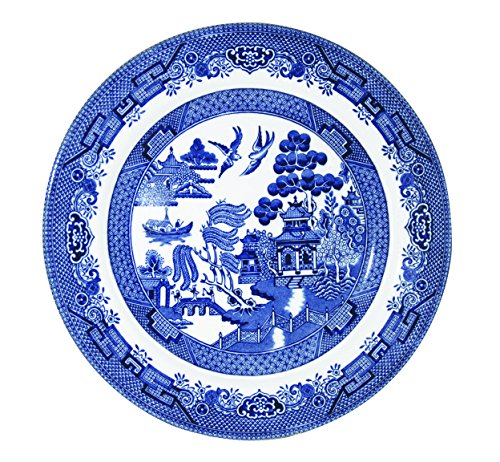 Churchill Blue Willow Fine China Earthenware Salad Plate 8