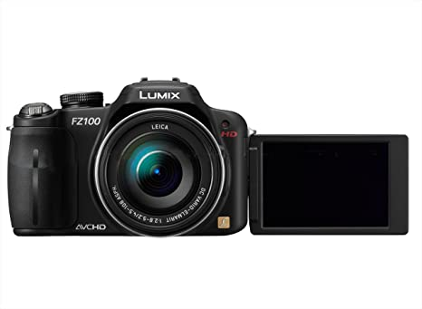 Panasonic Lumix FZ100 - Cámara Digital Compacta, 14.1 MP (3 ...