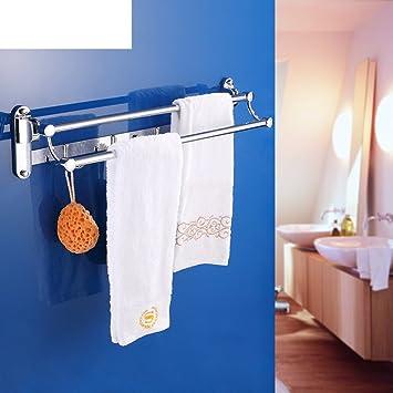Badezimmer Handtuchhalter faltbar/Handtuch Regal Bad ...