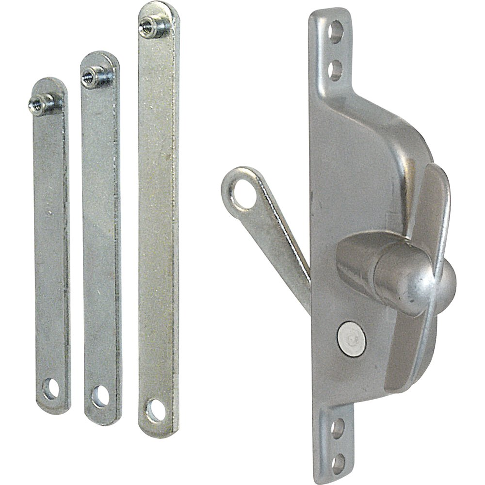 Prime-Line Products H 3557 Jalousie Operator, Reversable with Links, Aluminum Finish