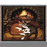 Pure Country Weavers All Burned Out Blanket 895-T 53 inches wide by 53 inches long, 100% cotton