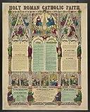 Photo: Holy Roman Catholic faith . Size: 8x10 (approximately)