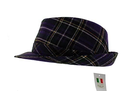 389e6f1e06e votrechapeau Men's Fedora Hat - Purple - Small: Amazon.co.uk: Clothing