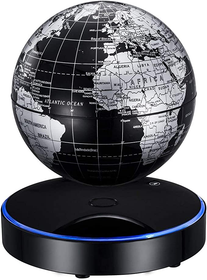 bienddyicho Globo de levitación Globo de levitación magnético Negro Especificación Europea El Globo Puede levitar Negro Especificación de la UE -Blanco: Amazon.es: Juguetes y juegos