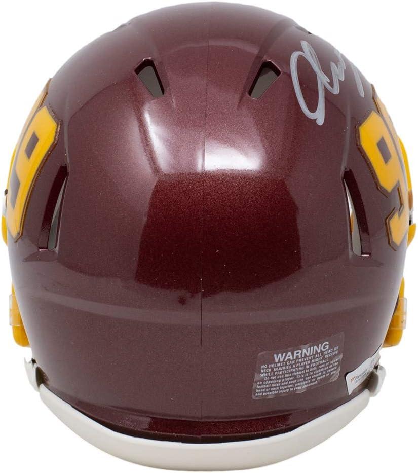 Chase Young Signed Mini Washington Football Team Speed Replica Helmet Fanatics