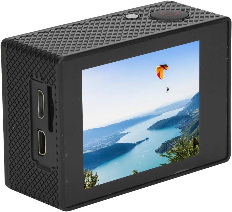 C/ámara de acci/ón c/ámara de acci/ón ultrapeque/ña 4K HD Grabadora subacu/ática 30M Videoc/ámara de grabaci/ón WiFi Impermeable