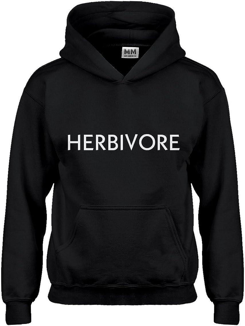 Indica Plateau Herbivore Vegan Hoodie for Kids