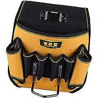 Kemerli alet çantası, manuel elektrikçi alet çantası, ayarlanabilir bel kemeri, alet düzenleyici çanta - B