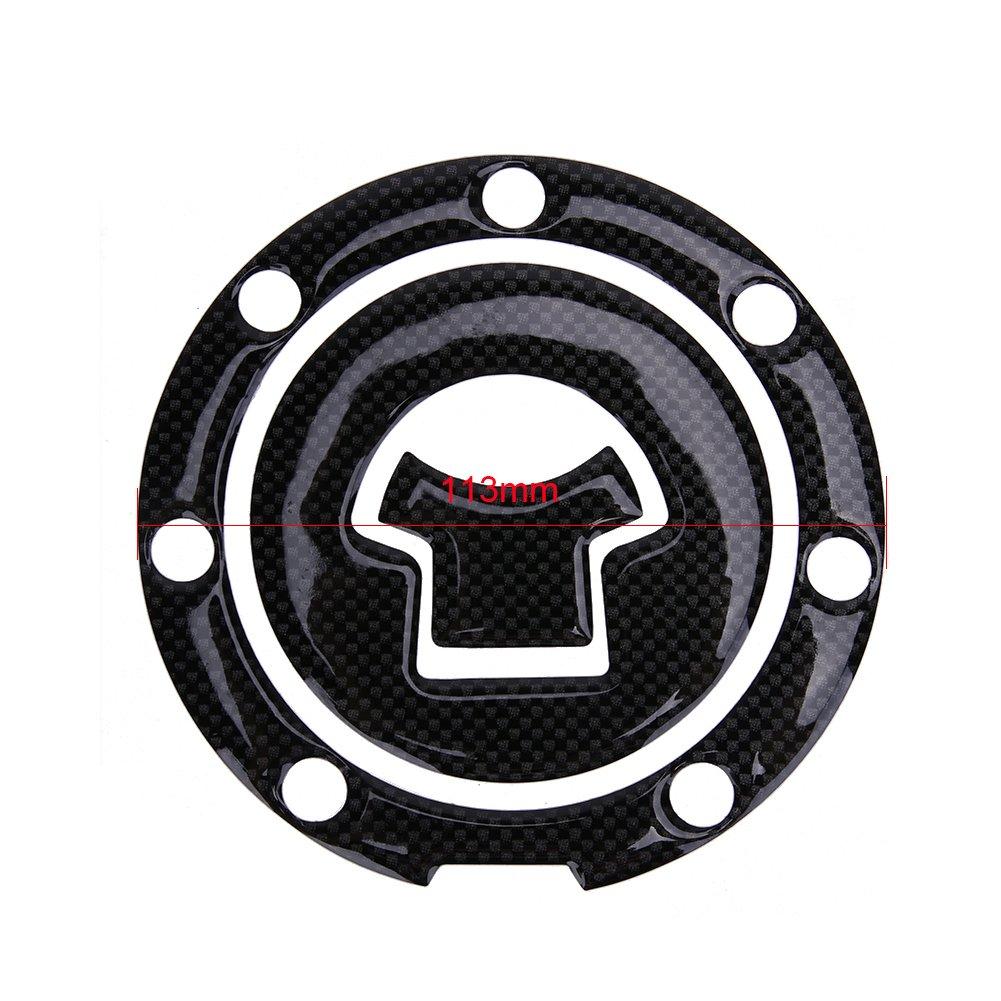 sikiwind Motorcycle Fuel Gas Cap Cover Pad Sticker for Suzuki Honda Yamaha Kawasaki