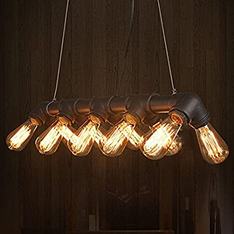 Lámpara Glighone Lámpara Colgante Industrial Luz Antigua pMqzULSVG