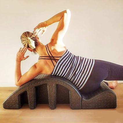 Wyyggnb Espuma de cuña espinal Ortesis, Yoga Pilates cuña ...