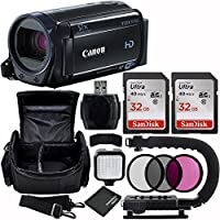 Canon 8GB VIXIA HF R60 Full HD Camcorder Bundle with Carrying Case and Accessory Kit (11 Items)