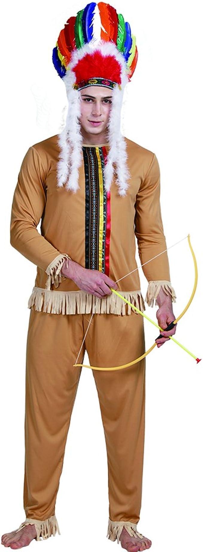 EraSpooky Nativo Americano Indio Lejano Oeste Disfraz Halloween ...