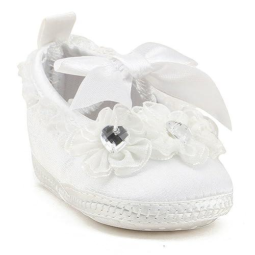 645e40cedfef9 OOSAKU Zapatos de niña bebé Niño de Bautizo Niño Antideslizante Zapatos de  Vestir con Cordones  Amazon.es  Zapatos y complementos