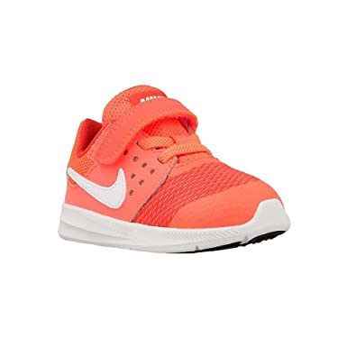 NIKE Downshifter 7 TDV - 869974801 - Color Orange-Red-White - Size: