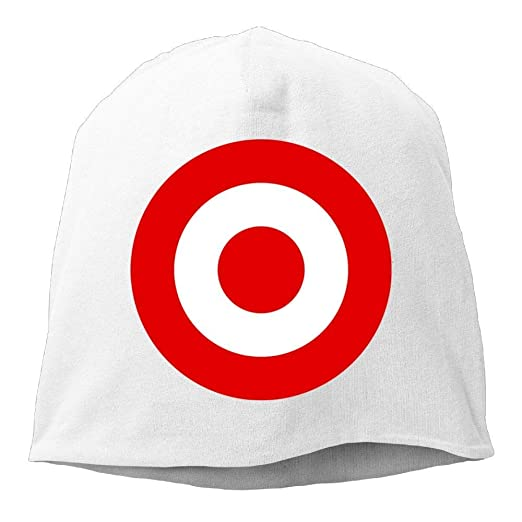 Skull Beanie Hat Red Target Bullseye Men s Warm Winter Cuff Watch ... 901f8e16d2f