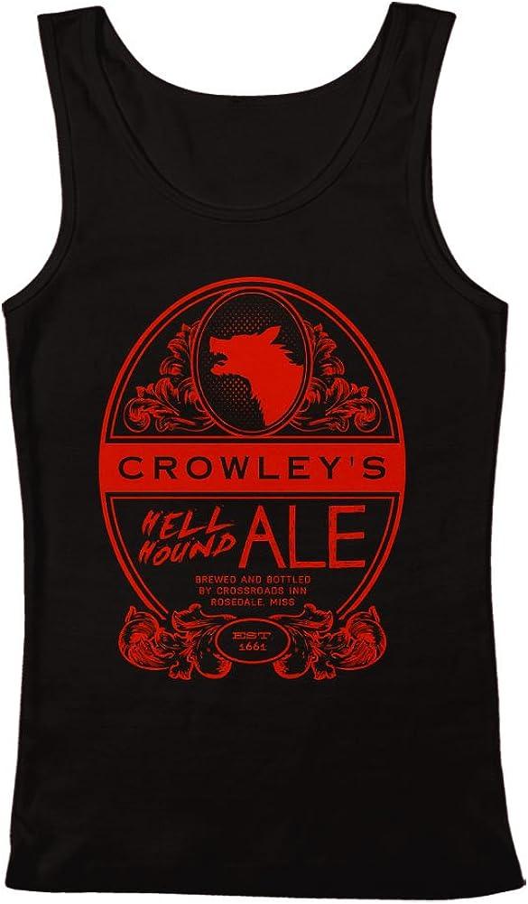 GEEK TEEZ Crowley's Hell Hound Ale Men's Tank Top