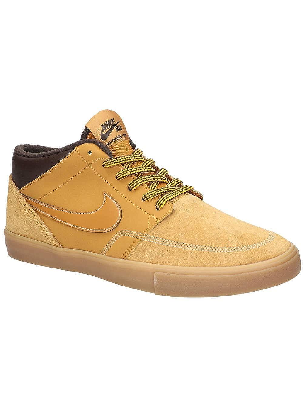 Nike Unisex-Erwachsene Sb Portmore Ii SLR M Bota Skateboardschuhe braun