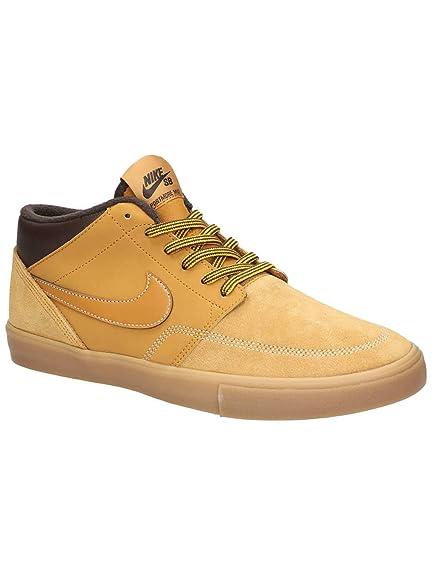 fc35ef521d Nike Adults Sb Portmore Ii SLR M Bota Skateboarding Shoes, Multicolour  Bronze/Gum Light