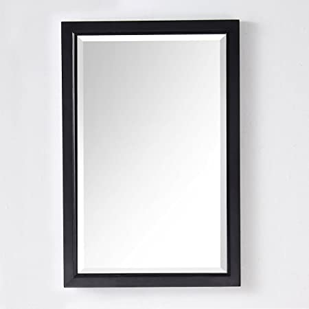 DP Home Textiles 24 x 36 In vertical or horizontal Bathroom D cor Mirror with Espresso Frame E-6000-EM