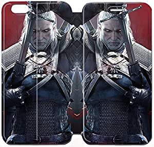 Fashion Style The Witcher 3 Wild Hunt Phone case Thin Slim Flip Leather Case Cover For iPhone 6 plus 5.5 inch OOL2970941