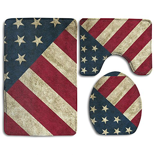 WeiGin Vintage Retro Usa Flag American 3