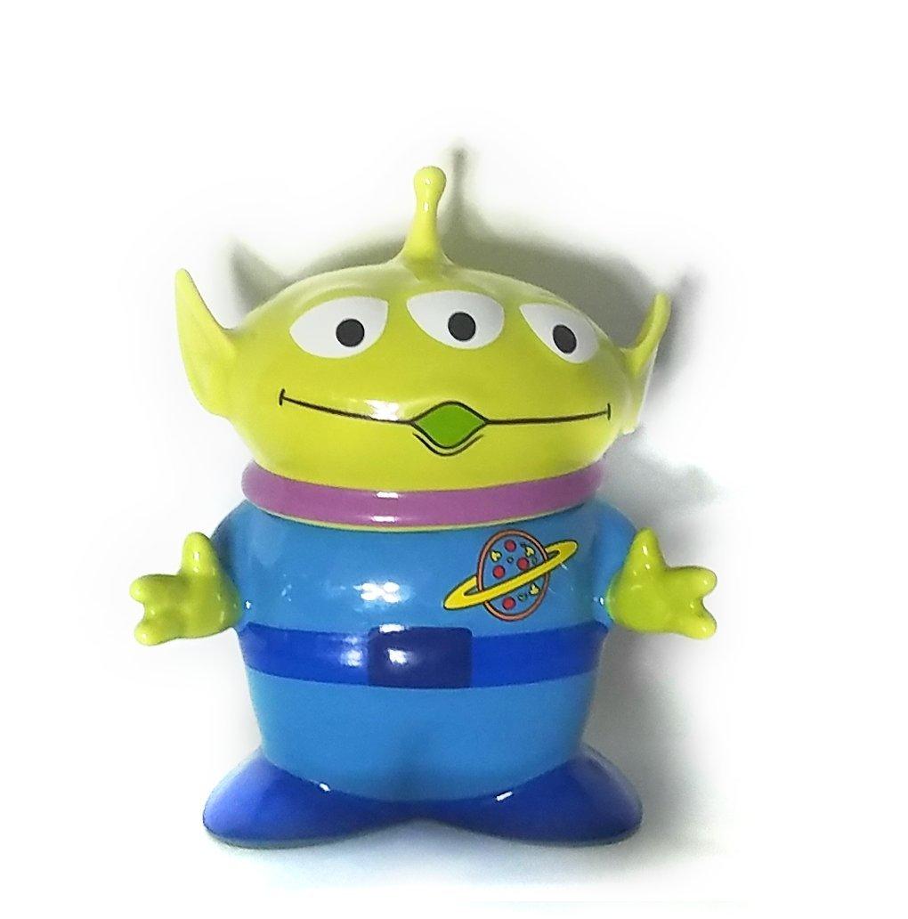 Disney Toy Story Alien Mug with Lid sugar cream bowl figure