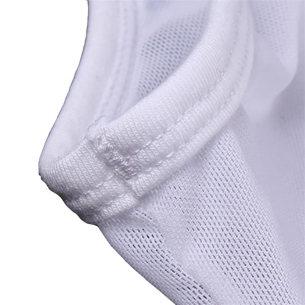GZXCPC Transparente Hombres Ropa Interior siamés Ropa Interior Transparente GZXCPC elástica Malla Perspectiva plástico Cuerpo Ropa Interior Boxer, blanco, XL 92898b