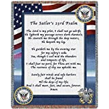 united states navy blanket - Pure Country Navy Poem Blanket Tapestry Throw