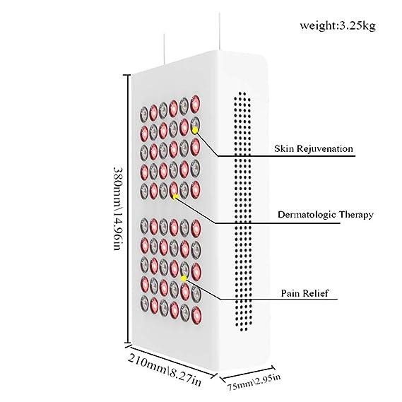 Lámpara de terapia de luz roja LED - Terapia de luz ...