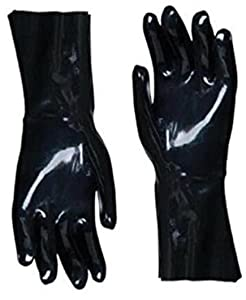 "Artisan Griller 12"" Heat Resistant Insulated Neoprene Gloves for Smokers, Fryers & Grills for Cooking & Handling Turkey Fryers, BBQ's, Pulling Pork, Home Brew Tasks. Includes 2 Size 10/XL Glove"