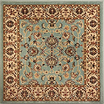 Noble Sarouk Red Persian Floral Oriental Formal Traditional Area Rug Easy to Clean Stain / Fade Resistant Shed Free Modern Contemporary Transitional Soft Living Dining Room Rug