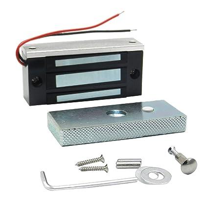 B Blesiya NC Mode DC12V Mini Cerradura Eléctrica para Puertas Seguridad de Hogar Oficina Entrada