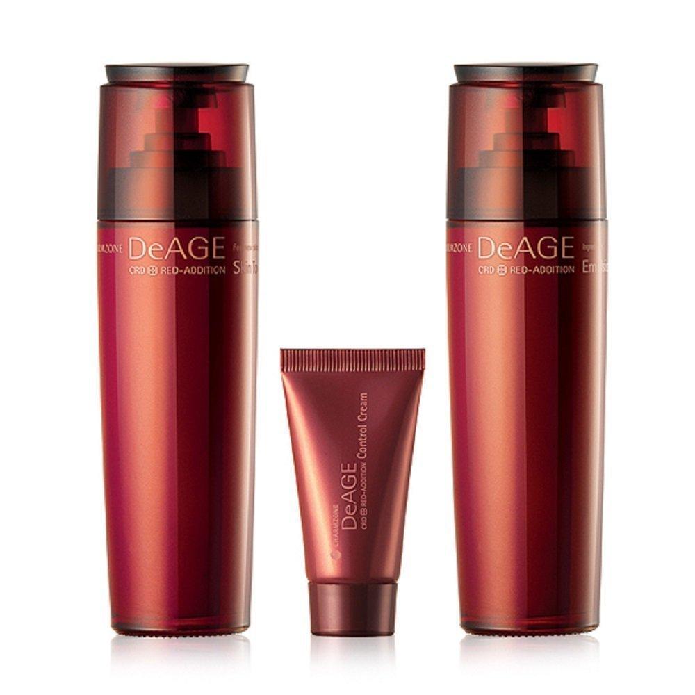 Charmzone, DeAge, Red-Addition, Control Cream, 6.08 fl oz (pack of 4) 2 Pack - Caudalie Instant Detox Mask 2.5 oz