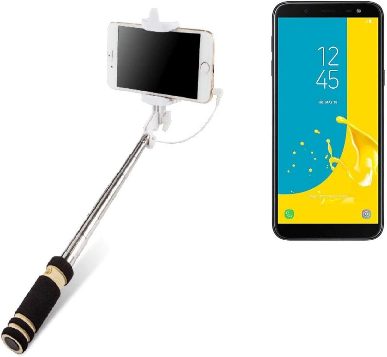 K-S-Trade Selfie Stick Palillo para Samsung Galaxy J6 (2018 ...