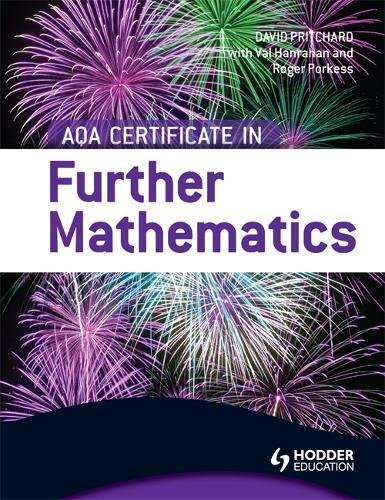 AQA Certificate in Further Mathematics: Val Hanrahan, Roger ...