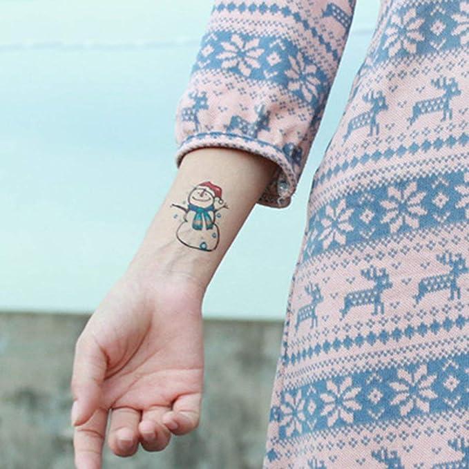 Compra Tatuajes de Navidad de Kongqiabona Tatuajes de Alces de ...