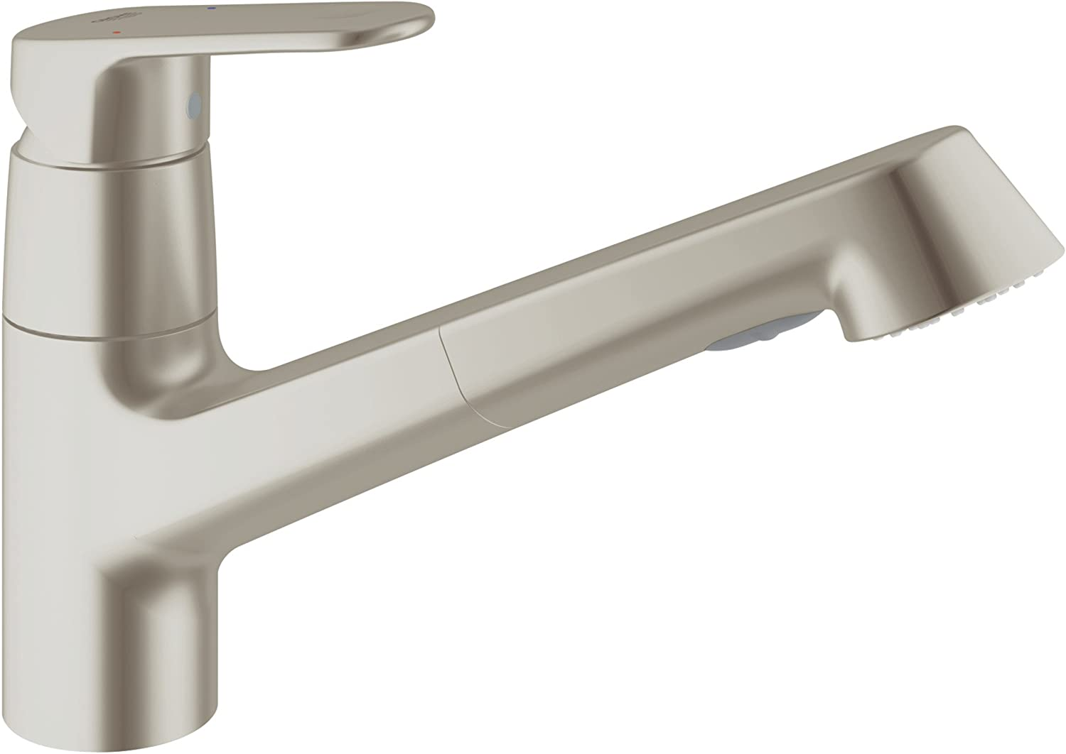 Grohe Europlus Single Handle Pull Out Kitchen Faucet 32946dc2 Touch On Kitchen Sink Faucets Amazon Com