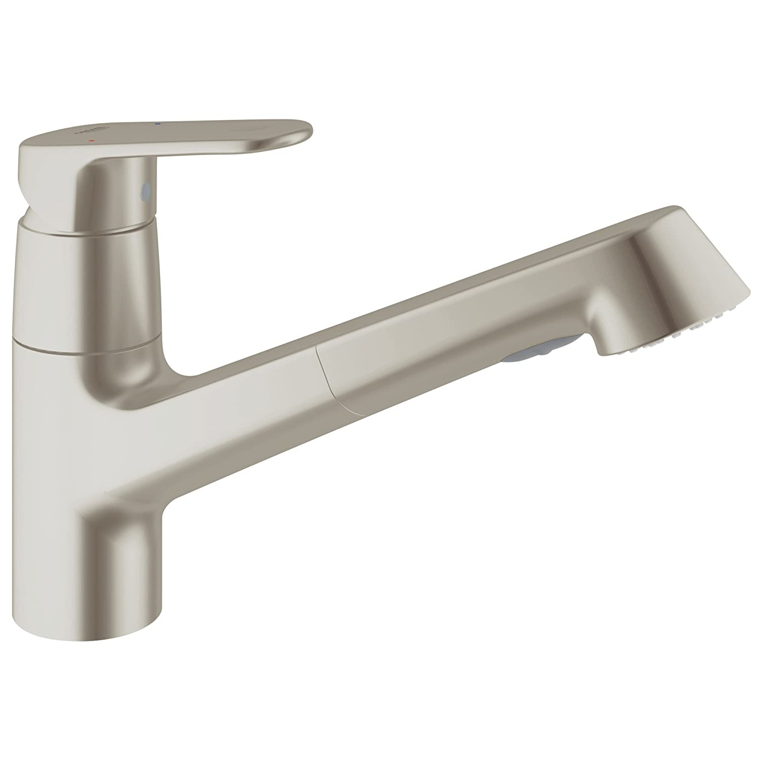 europlus single handle pull out kitchen faucet touch on kitchen