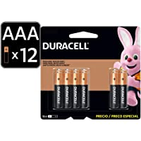 Duracell Pilas Duracell Aaa 12 Pza - Alcalinas, Color, Aaa, Pack Of/Paquete De 12