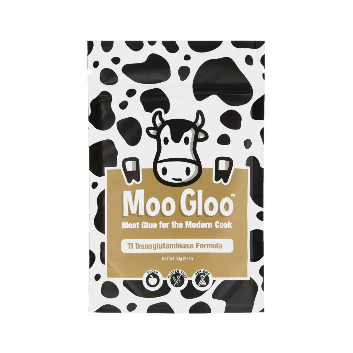Moo Gloo Transglutaminase [TG, Meat Glue] - TI Formula - 50g/2oz