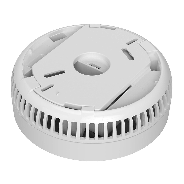 Sebson 6X Detector de Humo, Batería de Larga Duración 5 Años, DIN EN 14604, Detectores fotoeléctricos de Humo GS536GC, Alarma de Incendios: Amazon.es: Hogar