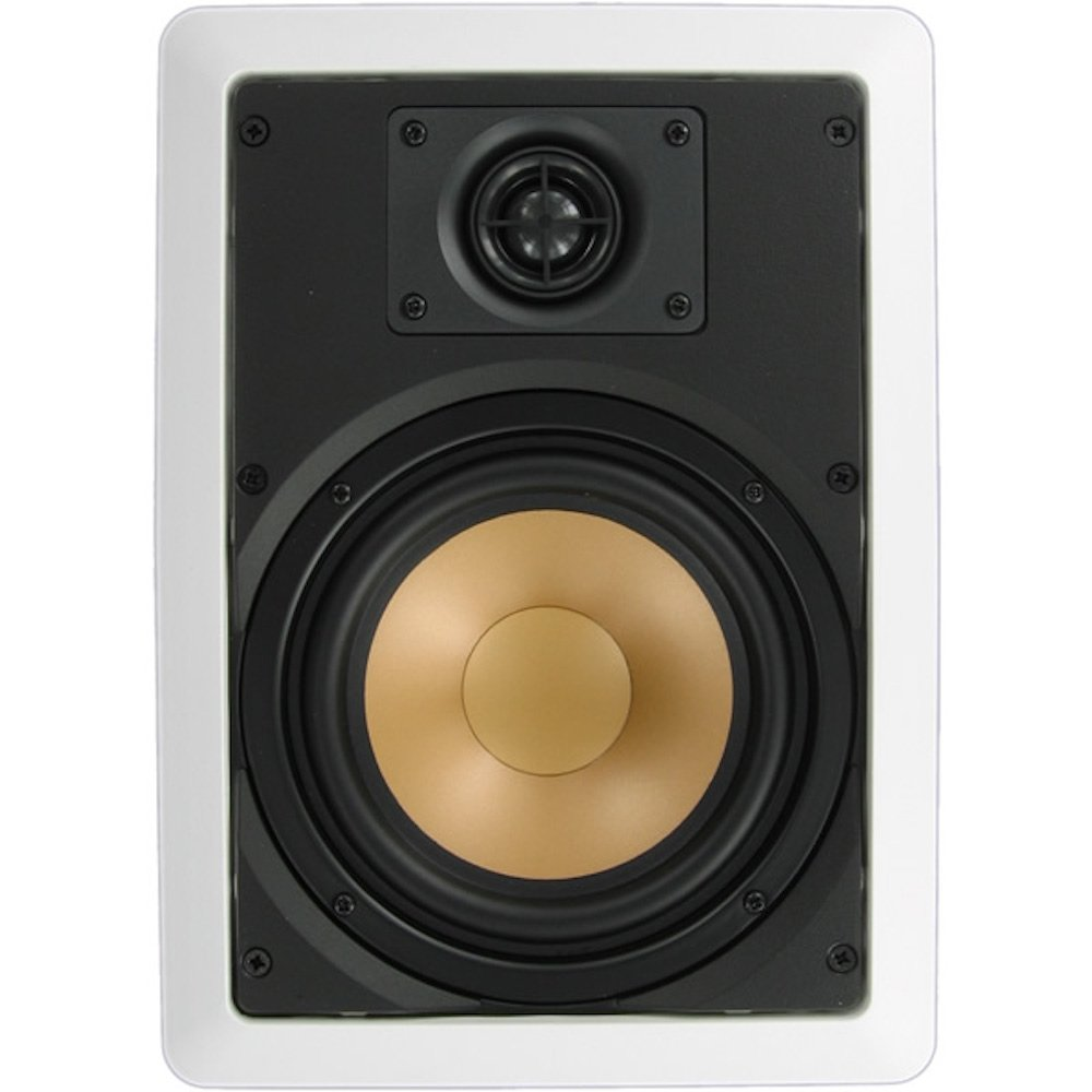Inwalltech M65.1W - 6 1/2'' Aluminum Flush Mounted In Wall Speakers